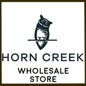 horn creek hemp wholesale owl logo